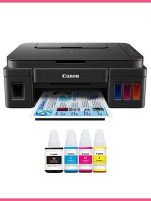 Impresora Canon Multifuncional G2110 con Sistema de Tinta Continua