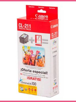 Cartucho Original Canon 211 Color