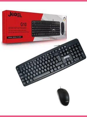 Combo de teclado y mouse Ref. Jedel G10